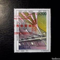 Sellos: ITALIA. YVERT 1921. SELLO SUELTO USADO. ARQUITECTURA. Lote 128679975