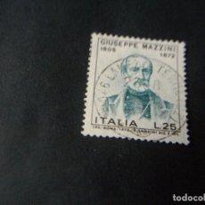 Sellos: SELLO DE ITALIA USADO EL DE LA FOTO VER TODOS MIS SELLOS NUEVOS Y USADOS. Lote 132724162