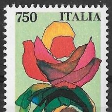 Sellos: ITALIA 1991. FERIA EURO FLORA. YT 1899 NUEVO (MNH). Lote 133468138