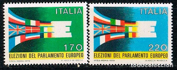 ITALIA IVERT Nº 1391/2. ELECCIONES AL PARLAMENTO EUROPEP. NUEVO *** (Sellos - Extranjero - Europa - Italia)