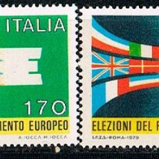 Sellos: ITALIA IVERT Nº 1391/2. ELECCIONES AL PARLAMENTO EUROPEP. NUEVO ***. Lote 141814262