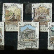 Sellos: ITALIA- FOTO 571- FUENTES ARTISTICAS ITALIANAS. Lote 143862774