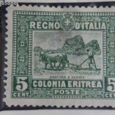 Sellos: SELLO ITALIANO. REGNO DE ITALIA. COLONIA ERITREA. 5 CENT. 1940.. Lote 144613310