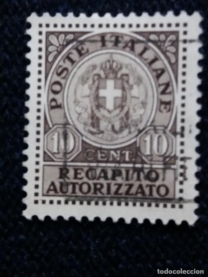 SELLO ITALIANO. POSTE ITALIANE 10 CENT RECAPITO AUTORIZZATO (Sellos - Extranjero - Europa - Italia)
