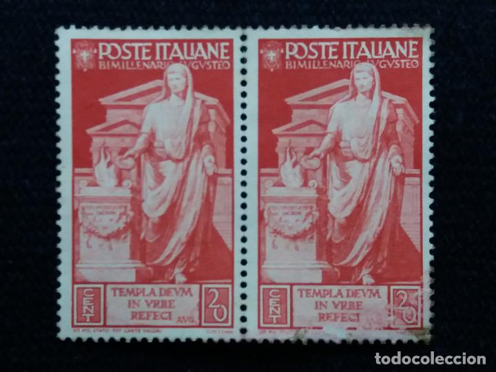 2 SELLO.POSTE ITALIANE. TENPLA DEUN IN URVE RECEFI 20. CENT. 1955. NUEVO. (Sellos - Extranjero - Europa - Italia)