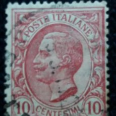 Sellos: SELLO.POSTE ITALIANE. FRANCOBOLLI 10 CENT. 1906. USADO.. Lote 144661618