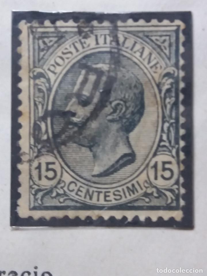 SELLO POSTE ITALIANO. FRANCOBOLO 15 CENT, ANO 1910. USADO (Sellos - Extranjero - Europa - Italia)