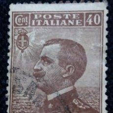 Sellos: SELLO POSTE ITALIANO. FRANCOBOLLO. 40 CENT, ANO 1923. USADO. Lote 144794610