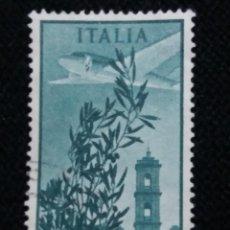 Sellos: SELLO POSTE AEREA ITALIANE, 100 LIRE, AÑO 1948 USADO. Lote 145198778