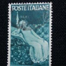 Sellos: SELLO POSTE ITALIANO, REPUBLICA DI SIENA 3 LIRE, 1946 USADO. Lote 145280690