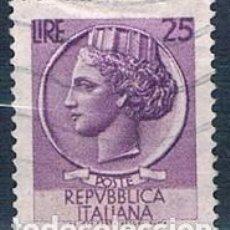 Sellos: ITALIA 1968 SELLO USADO Y 999 MI 1269. Lote 146041290