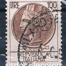Sellos: ITALIA 1968 SELLO USADO Y 1007 MI 1267. Lote 146041450