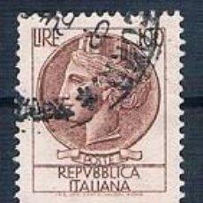 Sellos: ITALIA 1968 SELLO USADO Y 1007 MI 1267 BLOQUE DE 3. Lote 146041466