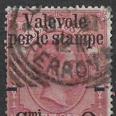 Sellos: ITALIA 1890 SC # 60 USADO - 8/54. Lote 146633626