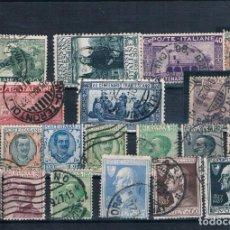 Sellos: CONJUNTO DE SELLOS USADOS DE ITALIA 1923 A 1926. Lote 147087850