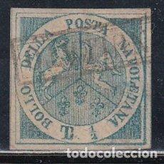 Sellos: NAPOLES, 1860 YVERT Nº 8, REIMPRESIÓN. Lote 147776650