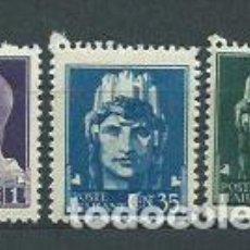 Sellos: ITALIA - CORREO 1945 YVERT 455/7 ** MNH. Lote 152708933