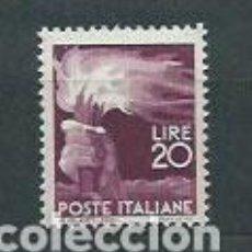 Sellos: ITALIA - CORREO 1945 YVERT 499 ** MNH. Lote 152709102