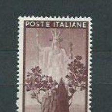 Sellos: ITALIA - CORREO 1945 YVERT 502 ** MNH. Lote 152709110