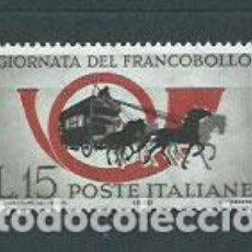 Sellos: ITALIA - CORREO 1960 YVERT 825 ** MNH DIA DEL SELLO. Lote 152710609