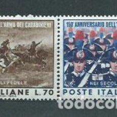 Sellos: ITALIA - CORREO 1964 YVERT 904/5 ** MNH. Lote 152710785