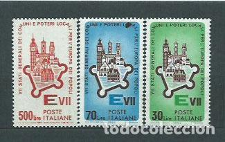 ITALIA - CORREO 1964 YVERT 909/11 ** MNH (Sellos - Extranjero - Europa - Italia)
