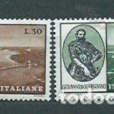Sellos: ITALIA - CORREO 1964 YVERT 914+A144 ** MNH. Lote 152710817