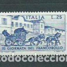 Sellos: ITALIA - CORREO 1969 YVERT 1040 ** MNH DIA DEL SELLO. Lote 152711150