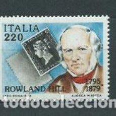 Sellos: ITALIA - CORREO 1979 YVERT 1409 ** MNH PERSONAJE. Lote 152711873