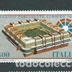 Sellos: ITALIA - CORREO 1984 YVERT 1610 ** MNH PARLAMENTO EUROPEO. Lote 152712264
