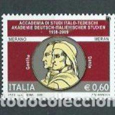 Sellos: ITALIA - CORREO 2009 YVERT 3059 ** MNH. Lote 152714696