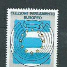 Sellos: ITALIA - CORREO 1994 YVERT 2070 ** MNH PARLAMENTO EUROPEO. Lote 152715430