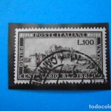 Sellos: ITALIA YVERT Nº 537 , 1949 CENTENARIO DE LA REPÚBLICA , PERFECTO ESTADO. Lote 153836086