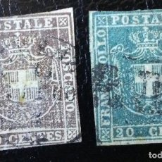Sellos: TOSCANA 1860 10& 20 CENTS. Lote 155071158