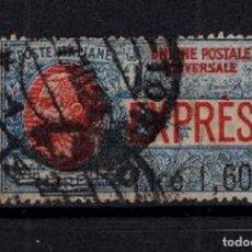 Sellos: SELLO USADO ITALIA 1924 MI 205 VAL. CATALOGO 180€ DOBLE MATASELLOS. Lote 155851838