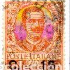 Sellos: ITALIA. AÑO 1905.- SELLO DE 1901 SOBRECARGADO. EN USADO. Lote 157119658