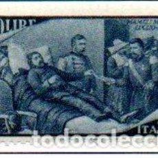 Sellos: ITALIA. AÑO 1948.- CENTENARIO DE RESURGIMIENTO, EN NUEVO. Lote 157433654