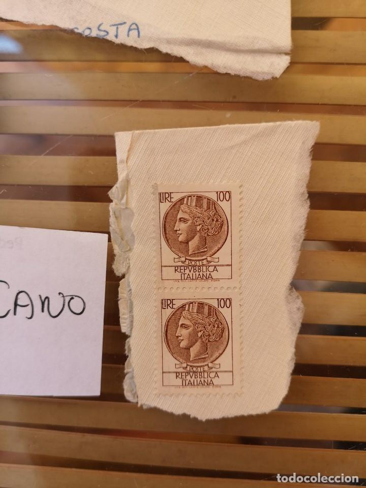 Sellos: SELLOS ANTIGUOS PERTENECIENTE A ITALIA Y UNO DEL VATICANO ,ANTIGUOS. - Foto 2 - 158660818