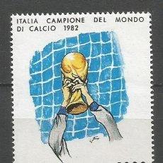 Sellos: ITALIA 1982 IVERT 1542 *** ITALIA CAMPEÓN DEL MUNDO DE FUTBOL ESPAÑA 1982 - DEPORTES. Lote 159550446