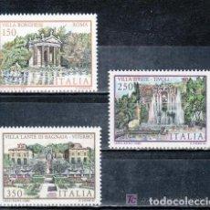 Sellos: ITALIA 1982 IVERT 1544/6 *** PATRIMONIO - CIUDADES ITALIANAS (III) - MONUMENTOS. Lote 159550962