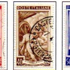 Sellos: ITALIA. AÑO 1950. OFICIOS, EN USADOS. Lote 159746942