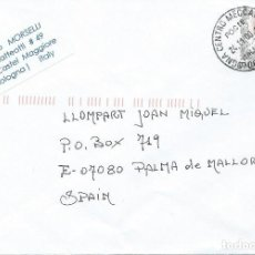 Sellos: 2000. ITALIA/ITALY. SOBRE CIRCULADO MATASELLOS BOLOGNA CENTRO MECCANIZZATO. ARTE/ART. MUJERES/WOMEN.. Lote 159944962