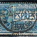 Sellos: ITALIA URGENTE IVERT Nº 12 (AÑO 1922). USADO. Lote 160398650