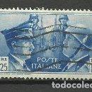 Sellos: ITALIA SELLO USADO 1941. Lote 162917502