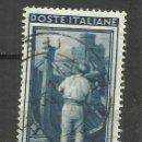 Sellos: ITALIA SELLO USADO 1950. Lote 162917618
