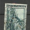 Sellos: ITALIA SELLO USADO 1950. Lote 162918078