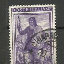 Sellos: ITALIA SELLO USADO 1950. Lote 162918726