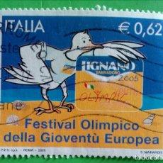 Sellos: ITALIA. 2005- FESTIVAL OLÍMPICO. USED. Lote 165535954