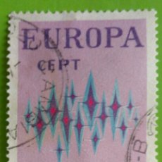 Sellos: ITÁLIA 1972- EUROPA CEPT. USED. Lote 166674442