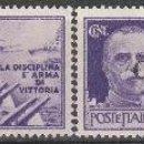 Sellos: ITALIA 1944. SELLOS CON PROPAGANDA DE GUERRA G.N.R. **. MFIJ. Lote 166918384